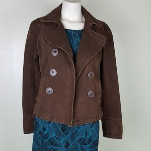 American Eagle Outfitters  brown peacoat